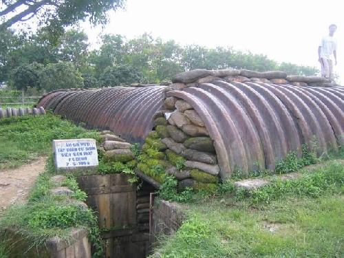 Hầm chỉ huỷ chiến dịch Điện Biên Phủ